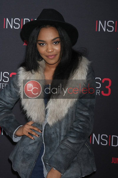 China Anne McClain at the &quot;Insidious Chapter 3&quot; Premiere, TCL Chinese Theater, Hollywood, CA 06-04-15<br /> David Edwards/DailyCeleb.com 818-249-4998
