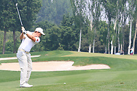 Paul Dunne (IRL) in action during the final round of the Volvo China Open played at Topwin Golf and Country Club, Huairou, Beijing, China 26-29 April 2018.<br /> 29/04/2018.<br /> Picture: Golffile | Phil Inglis<br /> <br /> <br /> All photo usage must carry mandatory copyright credit (&copy; Golffile | Phil Inglis)