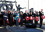 """THE DUKE AND DUCHESS OF GLOUCESTER.attend the Service of Remembrance at the National Memorial Arboretum for Armistice Day & Remembrance Sunday_11/11/2012 .Mandatory Credit Photo: ©A Stinson/NEWSPIX INTERNATIONAL..**ALL FEES PAYABLE TO: """"NEWSPIX INTERNATIONAL""""**..IMMEDIATE CONFIRMATION OF USAGE REQUIRED:.Newspix International, 31 Chinnery Hill, Bishop's Stortford, ENGLAND CM23 3PS.Tel:+441279 324672  ; Fax: +441279656877.Mobile:  07775681153.e-mail: info@newspixinternational.co.uk"""