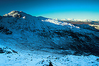 Stob an Lochain from Ben Venue, Southern Highlands, Loch Lomond and the Trossachs National Park, Stirlingshire