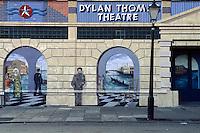 Großbritannien, Wales, Swansea, Dylan Thomas-Theater