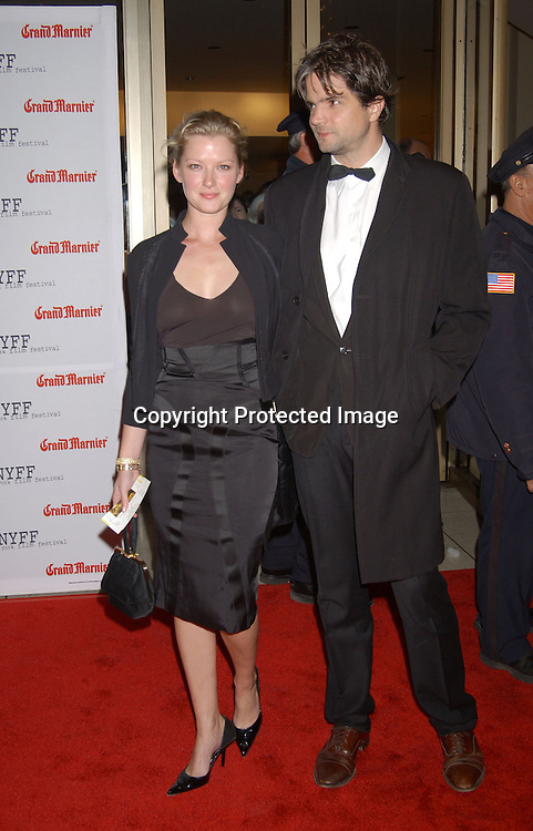 "..Gretchen Mol and Todd Williams..arriving at the opening of the 41st New York Film Festival ..screening of "" Mystic River"" on October 3, 2003 in New York City. Photo By Robin Platzer, Twin Images"