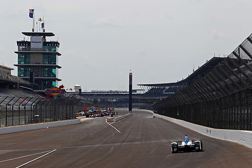 Verizon IndyCar Series<br /> Indianapolis 500 Practice<br /> Indianapolis Motor Speedway, Indianapolis, IN USA<br /> Wednesday 17 May 2017<br /> Jay Howard, Schmidt Peterson Motorsports Honda<br /> World Copyright: Phillip Abbott<br /> LAT Images<br /> ref: Digital Image abbott_indyP_0517_13754