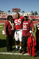 18 November 2006: Michael Okwo during Stanford's 30-7 loss to Oregon State at Stanford Stadium in Stanford, CA.