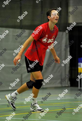 2010-09-09 / Volleybal / Seizoen 2010-2011 / Precura Antwerpen / Bart De Ren..Foto: Mpics
