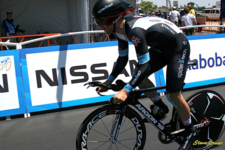 Stage 5 individual time trial of the Amgen Tour of California on May 17, 2012. Photo by Paul Snider