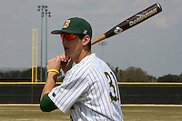 March 17, 2010:  Wes Satzinger (31) of North Dakota State University Bison vs. Long Island University at Lake Myrtle Park in Auburndale, FL.  Photo By Mike Janes/Four Seam Images