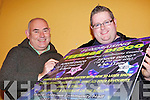 DISCO TIME: Maurice Harmon of Milltown Community Council with local DJ, Donal Clifford who are organising a series of discos to raise funds for the local community hall.