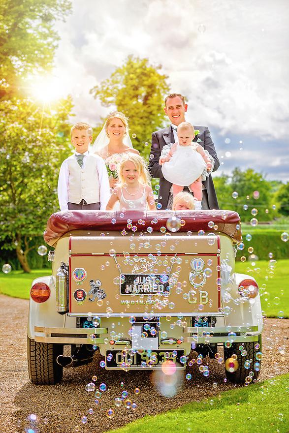 Summer wedding at the Walled Garden of Hexton Manor