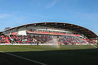General View during the Sky Bet League 1 match between Fleetwood Town and MK Dons at Highbury Stadium, Fleetwood, England on 24 February 2018. Photo by David Horn / PRiME Media Images