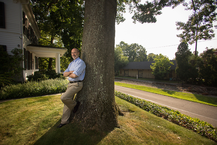 Pennsylvania Governor Elect Tom Wolf at his home in Mt. Wolf, PA.