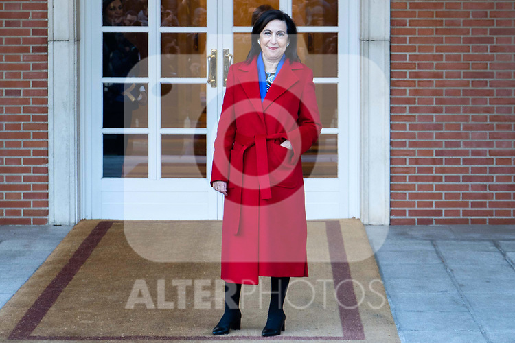Spain's Minister of Defence Margarita Robles attends the first cabinet meeting of the new government. January 14,2020. (ALTERPHOTOS/Ander Beizama)