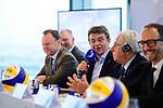 24.01.2018, Hamburg, Penthouse Elb-Panorama / Atlantic Haus<br />Beachvolleyball, Pressekonferenz FIVB World Championships / Weltmeisterschaft<br /><br />Hannes Jagerhofer (CEO Beach Majors Company)<br /><br />  Foto © nordphoto / Kurth