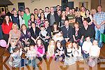BABY JOY: Proud parents Noel Brosnan and Niobe Barry, Gallowsfield (seated 4th & 5th left) of little Lauren who was Christend at St Brendan's Church celebrating with a large group of family and friends at Austin Stack's clubhouse on Saturday.   Copyright Kerry's Eye 2008