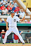 9 March 2012: Detroit Tigers infielder Nick Castellanos in action during a Spring Training game against the Philadelphia Phillies at Joker Marchant Stadium in Lakeland, Florida. The Phillies defeated the Tigers 7-5 in Grapefruit League action. Mandatory Credit: Ed Wolfstein Photo