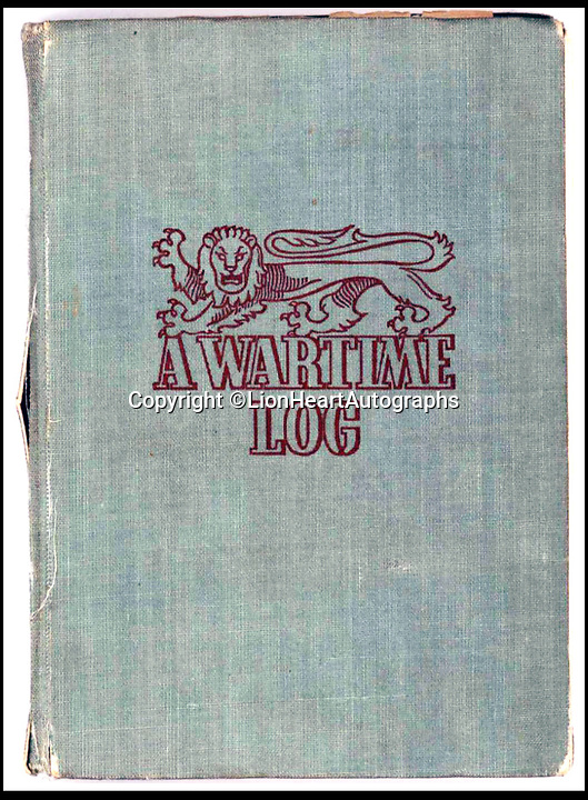 BNPS.co.uk (01202 558833)<br /> Pic:   LionHeartAutographs/BNPS<br /> <br /> A remarkable diary kept by a POW in the Great Escape camp which includes a tribute to the 50 men executed in its reprisals has come to light.<br /> <br /> British RAF officer Joseph Gueuffen, of 609 Squadron, was shot down during a bombing raid over Germany and held captive at Stalag Luft III from late 1943 until the end of the war.<br /> <br /> The Belgian born pilot was kept in Block 109, a barrack which played an integral part in the mass escape of prisoners on March 24, 1944.<br /> <br /> The diary boasts a list of the officers executed by the Nazis following their recapture and a drawing of the permanent memorial for them by Belgian RAF pilot Bobby Laumans.