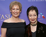 Liz Callaway and Lynn Ahrens  attend Broadway Opening Night performance of 'Anastasia' at the Broadhurst Theatre on April 24, 2017 in New York City.