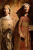 St.Olaf + St.Lars, 1450 im Nationalmuseum Suomen Kansallismuseo, Helsinki, Finnland