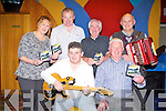 CD LAUNCH: Having fun at the launch of the Castleisland Day Care Centre CD at the Riverisland hotel, Castleisland on Friday seated l-r: Eddie Lee and Hugh Brosnan. Back l-r: Noreen Ashe, James Finn, Tommy James and Mike Condon.