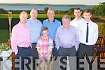 KEANES OF CURRAHEEN: Celebrating the 20th anniversary of Keane's of Curraheen on Saturday l-r: Michael Keane, Peter Keane, Michael Keane, John Keane, Michael Keane, Jim Keane and Andrew Byrne...