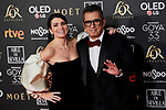 Silvia Abril and Andreu Buenafuente attends to 33rd Goya Awards at Fibes - Conference and Exhibition  in Seville, Spain. February 02, 2019. (ALTERPHOTOS/A. Perez Meca)