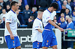 Dejection from Lee McCulloch, Emilson Cribari and Barrie McKay