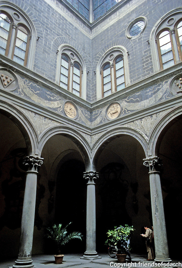 Florence: The Medici Palace. Photo '83.