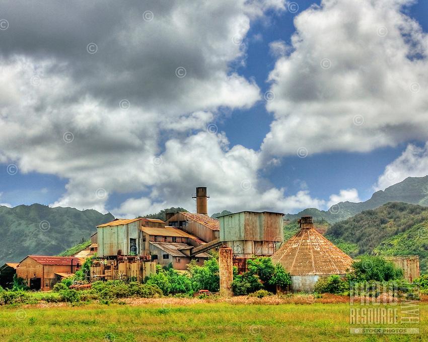 Old sugar mill in Koloa; near Poipu on Kauai; Hawaii.