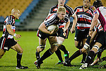 Andrew Van der Heijden breaks around the side of a ruck. Air New Zealand Cup rugby game between Counties Manukau Steelers & North Harbour, played at Mt Smart Stadium on August 10th, 2007. The game ended in a 13 all draw.