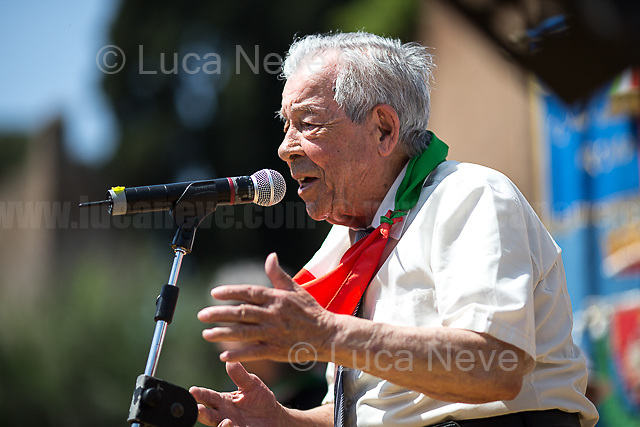 Mario Di Maio (Antifascist Partizan. Member of the Partigiani: the Italian Resistance during WWII).<br />