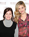 Mare Winningham & Maggie Grace  attending the Meet & Greet for the Roundabout Theatre Company's 'Picnic' at their rehearsal studios  in New York City. November 29, 2012.