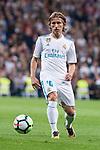 Real Madrid Luka Modric during La Liga match between Real Madrid and Eibar at Santiago Bernabeu Stadium in Madrid, Spain. October 22, 2017. (ALTERPHOTOS/Borja B.Hojas)