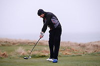 James Fox (Portmarnock) during the SF round of matchplay at the 2018 West of Ireland, in Co Sligo Golf Club, Rosses Point, Sligo, Co Sligo, Ireland. 03/04/2018.<br /> Picture: Golffile | Fran Caffrey<br /> <br /> <br /> All photo usage must carry mandatory copyright credit (&copy; Golffile | Fran Caffrey)