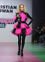 8 March 2019 - Los Angeles, California - Paris Hilton. Christian Cowan x The Powerpuff Girls Runway Show at City Market Social House. Photo Credit: Faye Sadou/AdMedia