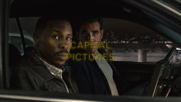 Ant-Man (2015) <br /> Gale (Wood Harris) and Paxton (Bobby Cannavale)<br /> *Filmstill - Editorial Use Only*<br /> CAP/KFS<br /> Image supplied by Capital Pictures