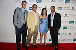 MIAMI BEACH, FL - JUNE 18: Erik Day, Warren Henry Zinn, Samantha DeBianchi and Jeremy Bedzoo attends Million Dollar Listing Miami Season One VIP Premiere Party at Nikki Beach on June 18, 2014 in Miami Beach, Florida. (Photo by Johnny Louis/jlnphotography.com)