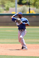 Casio Grider, Los Angeles Dodgers 2010 extended spring training..Photo by:  Bill Mitchell/Four Seam Images.