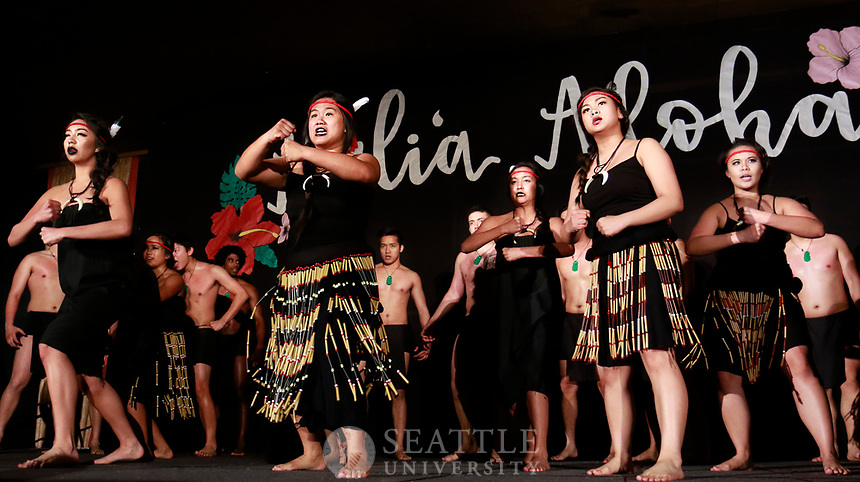 April 29th, 2017- The 55th Annual Luau is hosted by Seattle University's Hui O Nani  Hawaii (Hawaiian club) in Campion ballroom.