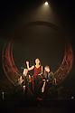 "Mark Bruce Company presents ""The Odyssey"" at Wilton's Music Hall. Picture shows: Grace Jabbari, Hannah Kidd, Nicola Guarino"