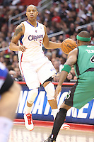 12/27/12 Los Angeles, CA: Los Angeles Clippers small forward Caron Butler #57 during an NBA game between the Los Angeles Clippers and the Boston Celtics played at Staples Center. The Clippers defeated the Celtics 106-77 for their 15th straight win.