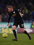 Kevin De Bruyne of Manchester City during the Premier League match at Turf Moor, Burnley. Picture date: 3rd December 2019. Picture credit should read: Simon Bellis/Sportimage