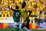 Colombia derroto 5x0 al selecionado  de bolivia rumbo a mudial 2014 de brasil