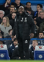 Professional Development Phase Coach Manager Darren Moore during the Premier League match between Chelsea and West Bromwich Albion at Stamford Bridge, London, England on 12 February 2018. Photo by Andy Rowland.