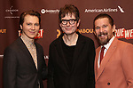 """Paul Dano, James Macdonald and Ethan Hawke attends the Broadway Opening Night After Party for the Roundabout Theatre Production of """"True West"""" at the American Airlines Theatre on January 24, 2019 in New York City."""