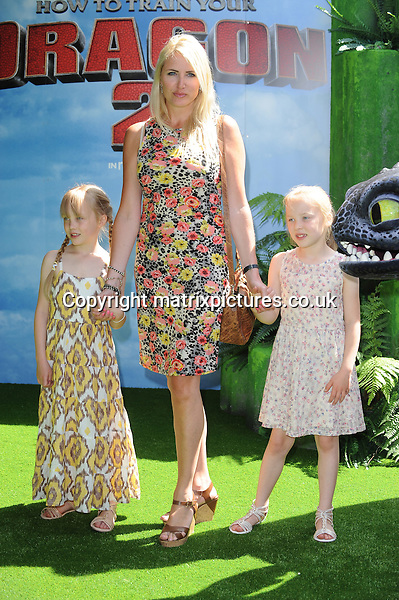 NON EXCLUSIVE PICTURE: PAUL TREADWAY / MATRIXPICTURES.CO.UK<br /> PLEASE CREDIT ALL USES<br /> <br /> WORLD RIGHTS<br /> <br /> English model Nancy Sorrell attending the UK Gala Screening of How To Train Your Dragon 2, at The Vue Leicester Square in London.<br /> <br /> JUNE 22nd 2014<br /> <br /> REF: PTY 142972