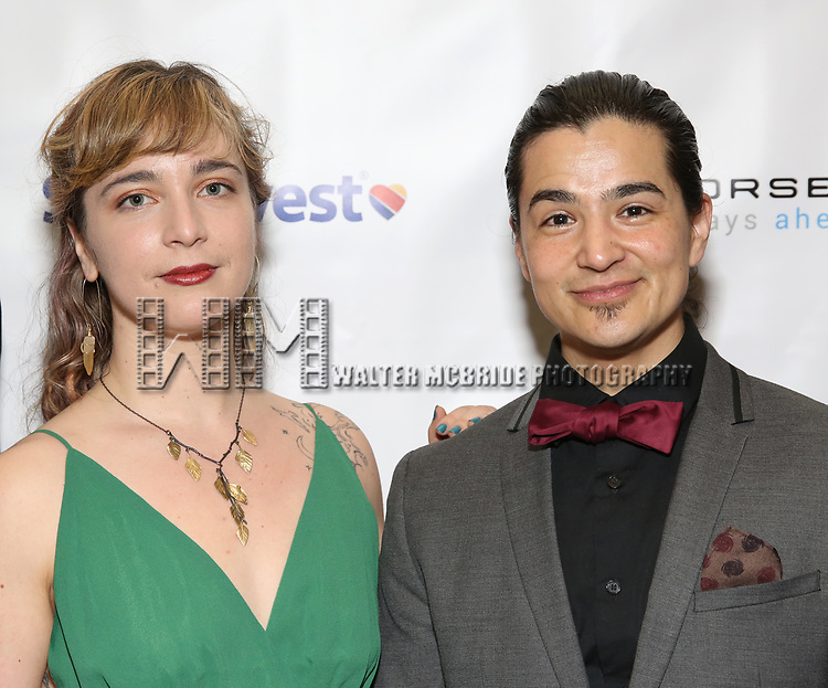 Kate Freer and Ty Defoe during a reception for Theatre Forward's Chairman's Awards Gala at the Pierre Hotel on April 8, 2019 in New York City.