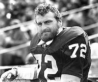 Oakland Raider lineman John Matuszak. (1976 photo/Ron Riesterer)