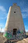 Abandoned dream - an abandoned trackside silo near Eureka, Utah
