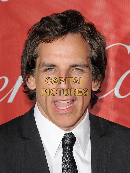 BEN STILLER .The 20th Anniversary Palm Springs Film Festival Awards Gala held at The Palm Springs Film Festival in Palm Springs, California, USA. .January 6th, 2009.headshot portrait mouth open                                                .CAP/DVS.©Debbie VanStory/Capital Pictures.