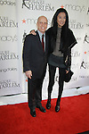 Figure Skater Scott Hamilton presents designer Vera Wang an award and is being honored at the 2012 Skating with the Stars - a benefit gala for Figure Skating in Harlem celebrating 15 years on April 2, 2012 at Central Park's Wollman Rink, New York City, New York.  (Photo by Sue Coflin/Max Photos)